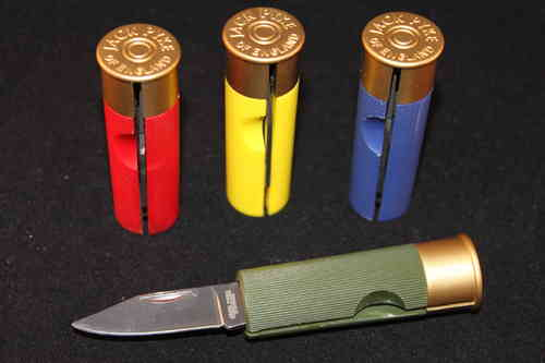 Shotgun Cartridge Pocket Knife