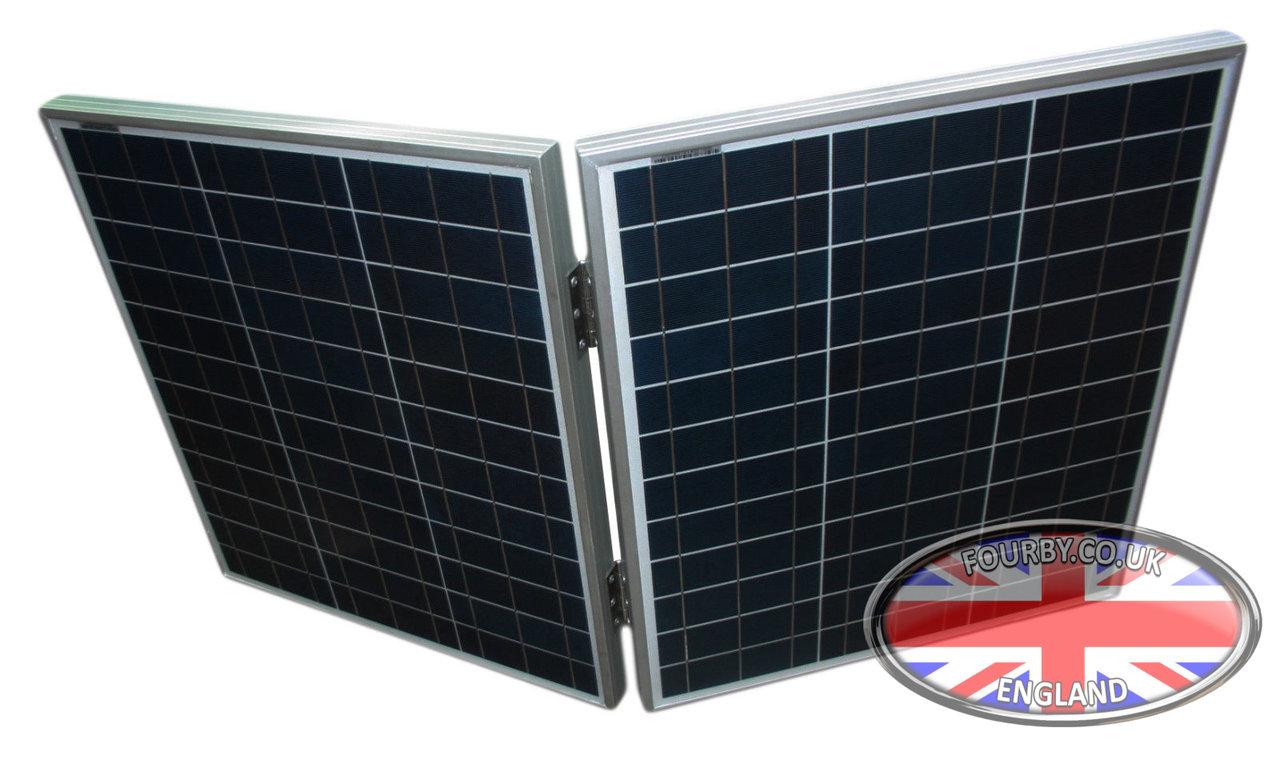 50w Portable Folding Solar Panel Www Fourby Co Uk