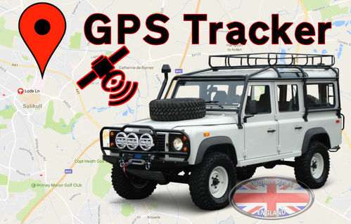 GPS Tracker for Defender or Discovery