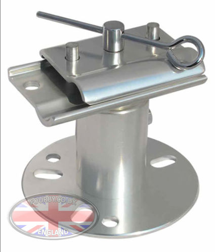 Discovery 2 spare wheel jack mount