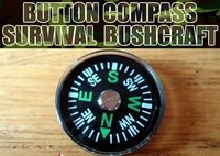 20mm Mini Button Compass