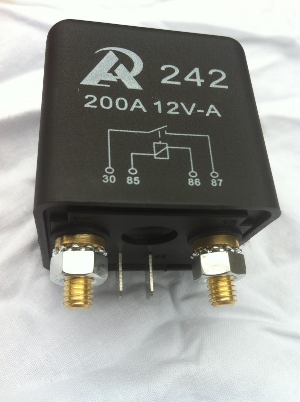 200a Split Charge Relay Www Fourby Co Uk