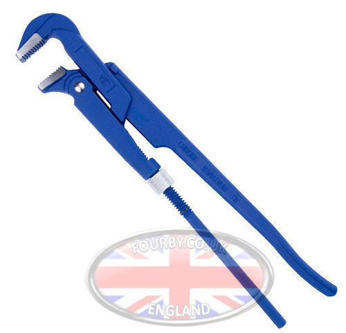 "Eclipse Swedish Pipe Wrench  25mm/m 1"" Capacity"