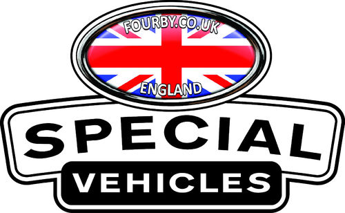 Fourby Special Vehicles Sticker Set