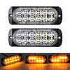 12/24v Cree LED Orange Amber Strobes (12 LED)