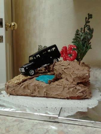 Thanks for the landrover. I used it to accessorise my other half's birthday cake. I picked it up at Castle Donington 4x4 show..... Mandy Roberts\\n\\n19/08/2014 14:06